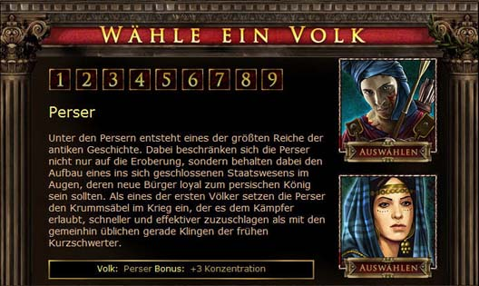 Das Browsergame der Antike - Screenshot 4