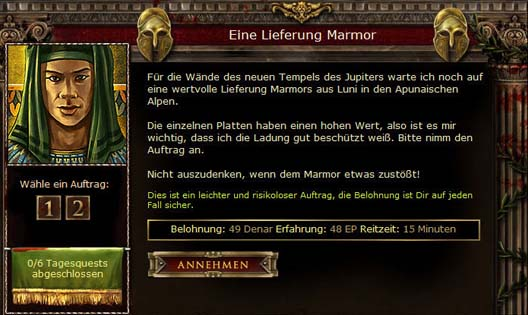 Das Browsergame der Antike - Screenshot 8